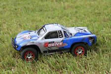 Traxxas Truck Car Body Blue 1/10 Slash 4x4 VXL 2WD Slayer Shell Cover Baja 6811