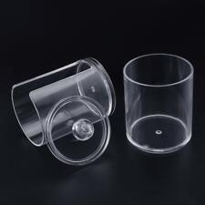 1Pcs Qtip Holder Dispenser Bathroom Clear Jar Organizer Plastic Acrylic Case HLD