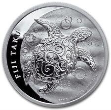 1oz Silver coin 2$ Fidji Taku Tortue 2013 (UNC)