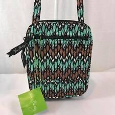 NEW VERA BRADLEY Mini Hipster Sierra Stream Small Crossbody Bags Green