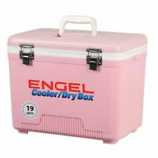 Engel Airtight Dry Box Cooler 19Qt. Pink Uc19P