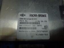 MAN TGX electronic brake system EBS, ECU, 81258087053, KNORR-BREMSE 0486106090