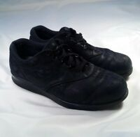 SAS Freetime Shoes Charcoal Black Suede Leather Casual Shoes Women's Size 8.5 W