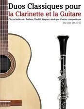 Duos Classiques Pour la Clarinette et la Guitare : Pièces Faciles de Brahms,...