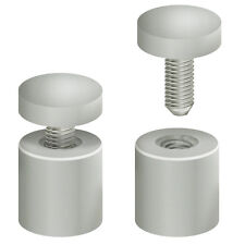 Aluminium Standoff Extra Hardware in Silver 1 D Inches - Case of 4