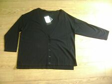 Max Mara cardigan.XXL or 18.Black.New with tags.Boxy shape.