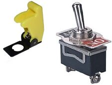 1 PC SPST SAFETY TOGGLE SWITCH 20AMPS @ 125VAC WITH YELLOW COVER  #ST15/66-5017