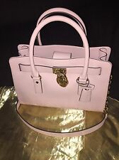 MICHAEL KORS HAMILTON BLOSSOM  LEATHER  EW SATCHEL  HANDBAG