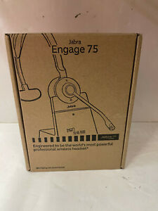 JABRA ENGAGE 75 WIRELESS HEADSET WITH CHARGING STAND
