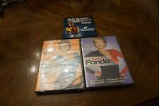 Lot Of 3 Exercise Dvds 2 Brand New Jane Fonda & Euc Billy Banks Taebo Amped