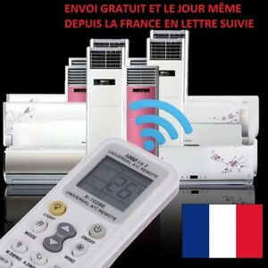 TELECOMMANDE UNIVERSELLE IR CLIMATISEUR LCD A/C CLIMATISATION AIR CHAUFFAGE CLIM