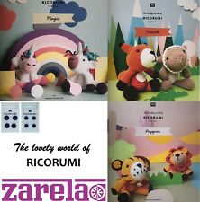 Rico Ricorumi DK 100% Cotton PATTERN BOOKS AND ACCESSORIES