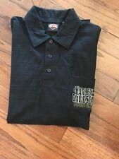Retail $60 Harley-Davidson Men/'s Classic Black HDMC S//S Polo Shirt L-3XL
