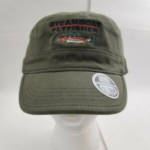 *STEAMBOAT FLYFISHER* Green Cadet Ball cap hat embroidered *Imperial*
