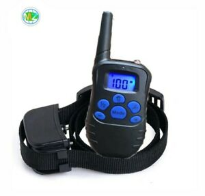 Dog training collar adjustable Rechargeable Waterproofelectric 300m remote Shock