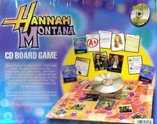 HANNAH MONTANA Miley Cyrus Walt Disney Channel Licensed MUSIC CD BOARD GAME SET