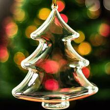 Decorazioni trasparente in plastica per albero di Natale
