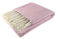Édredons et couvre-lits roses en 100% coton
