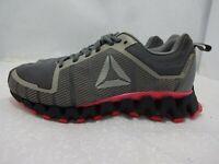Reebok ZigWild Tr 5.0 Women's Size 8.5 Gray Pink Running Sneaker Shoes CN2446
