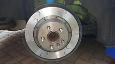 Focus RS Mk2 Rear Brake Discs & Bells Kit (original size) Mountune Style Grooves