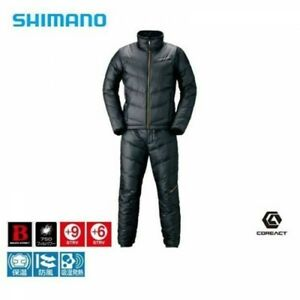 SHIMANO MD-152S Fishing Down Suit NEXUS LIMITED PRO Black Fast Shipping Japan