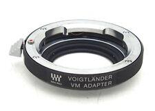 Voigtlander VM to Micro Four Thirds Lens Adapter #5554