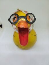 Vintage Germany ? Paper Mache Easter Candy Container Duck Cute