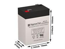 SigmasTek Replacement Battery For Peg Perego 6 Volt IAKB0509