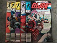 G.I. Joe A Real American Hero 5 book lot ~#67,68,69,70,71 Marvel Comics (1987)