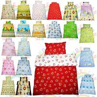 SINGLE BEDDING set DUVET cover PILLOW case FITTED SHEET SINGLE BED boy girl
