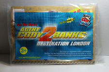 2004 Wendy's Kids Meal Toy Agent Cody Banks 2 Destination London Notebook