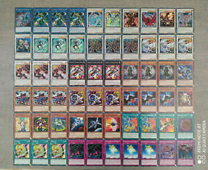 Yu-Gi-Oh! Synchro / Gerümpel / Junk - Deck Horus Rosendrache Brionac Catastor