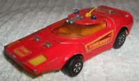 MATCHBOX (VINTAGE) SPEEDKINGS ** SHOVEL NOSE - FIRE CHIEF **  No K-32/40 - USED