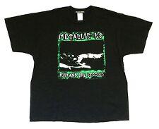 IGGY POP & THE STOOGES METALLIC KO BLACK T-SHIRT XL NEW OFFICIAL SOURPUSS 2003