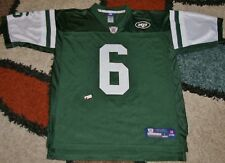 New York Jets Reebox #6 Mark Snachez NFL Equipment Jersey Green Size Large 2nd