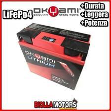 LI51913 BATTERIA LITIO 51913 BMW R1150R/RS/RT 1150 2001-2005 E07351 OKYAMI 51913