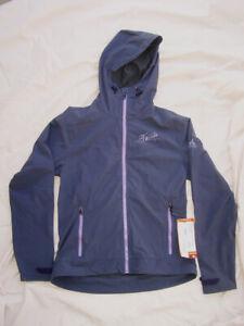 NEW - Vaude Gravit, Women's Light Windbreaker Jacket / Stretch Fabric, Violet, S