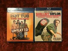 Unrated Hot Tub Time Machine + Drillbit Taylor : Two Blu-ray Comedy Movies