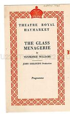 Vintage 1948 Programme Helen Hayes The Glass Menagerie Theatre Royal Haymarket