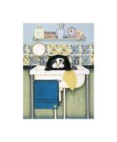 Linda Jane Smith IN THE SINK Kittens Cats Feline, Comedy Humour Cute Art Print