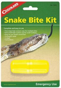 Coghlans Snake Bite Survival Kit Camping Hiking Emergency Gear First Aid Medical