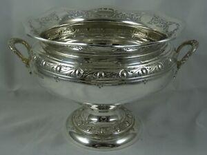SUPERB, sterling silver ROSE BOWL, 1917, 546gm