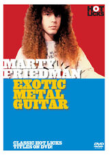MARTY FRIEDMAN - EXOTIC METAL GUITAR HOT LICKS NEW DVD