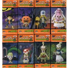 New ONE PIECE WORLD COLLECTABLE PAINTED HALLOWEEN SPECIAL Complete Set of 8