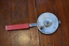 vintage ice fishing reel rod