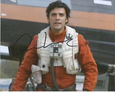 Hand Signed 8x10 photo OSCAR ISAAC as PEO DAMERON in STAR WARS + my COA