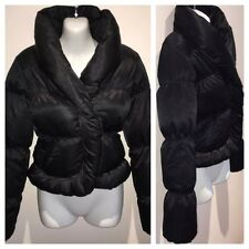 AllSaints Designer Black Puffer Jacket, Down Filling UK6 US2 RRP $488!! Winter