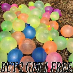 "Mix Small Latex 3"" Inch Latex Air Water Balloons For Indoor/Outdoor Fun Party UK"