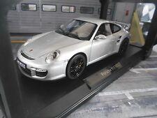 PORSCHE 911 997 GT2 coupe 2007 silber NEU NEW Norev limited 1:18
