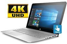 "HP Envy 15 15.6"" 4K UHD Touchscreen i7-7500U 16GB 256GB SSD Laptop WiFi BT W10"